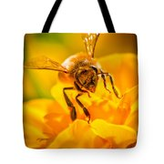 The Bee Gets Its Pollen Tote Bag