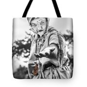 The Begging Leprous Tote Bag