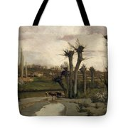 The Beginning Of Spring Tote Bag