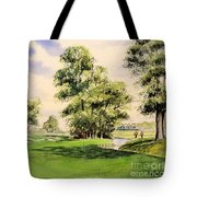 The Belfry Brabazon Golf Course 10th Hole Tote Bag