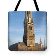 The Belfry Of Bruges Tote Bag