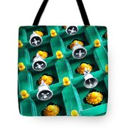 The Bells Of Kapaleeshwarar Tote Bag