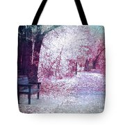 The Bench Of Promises Tote Bag