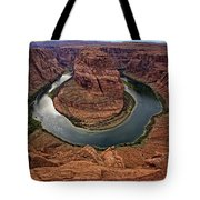 The Bend In The River Tote Bag