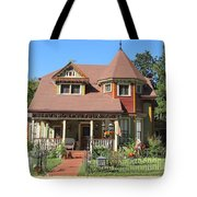 The Benefield House Jefferson Texas Tote Bag