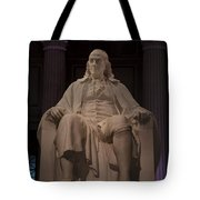 The Benjamin Franklin Statue Tote Bag