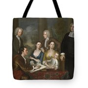 The Bermuda Group, Dean Berkeley And His Entourage, 1728 Tote Bag