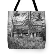 The Best Laid Plans Bw Tote Bag