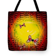 The Best Way To Freedom Pop Art Tote Bag