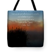 The Bible John Three Eight Tote Bag