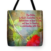 The Bible Tote Bag