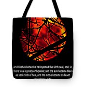 The Bible Revelation 6 Tote Bag