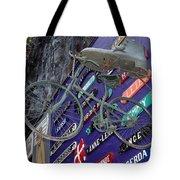 The Bicycle Peddler Tote Bag