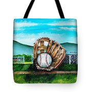 The Big Leagues Tote Bag by Shana Rowe Jackson