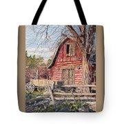 The Big Red Barn Tote Bag