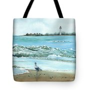 The Big Wave Tote Bag