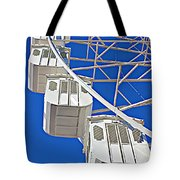 The Big Wheel Tote Bag