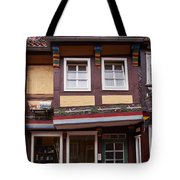 The Bike By The Door Tote Bag