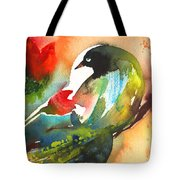 The Bird And The Flower 03 Tote Bag