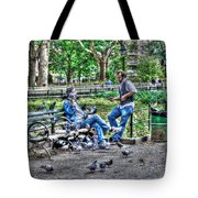 The Bird Whisperer Tote Bag