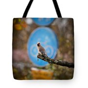 The Bird Without A Bike Tote Bag