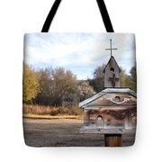 The Birdhouse Kingdom - American Kestrel Tote Bag