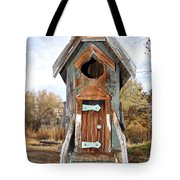 The Birdhouse Kingdom - Belted Kingfisher Tote Bag