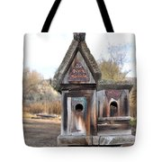 The Birdhouse Kingdom - Cedar Waxing Tote Bag