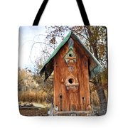 The Birdhouse Kingdom - Spotted Towhee Tote Bag
