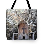 The Birdhouse Kingdom - The Olive-sided Flycatcher Tote Bag