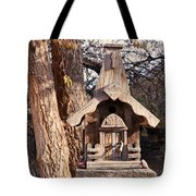 The Birdhouse Kingdom - The Orange-crowned Warbler Tote Bag