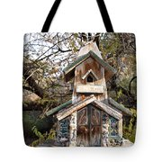 The Birdhouse Kingdom - The Red Crossbill Tote Bag
