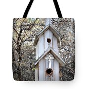 The Birdhouse Kingdom - The Western Wood-pewkk Tote Bag