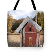 The Birdhouse Kingdom - Western Bluebird Tote Bag