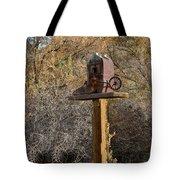 The Birdhouse Kingdom - Cowbird Home Tote Bag