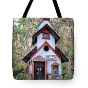 The Birdhouse Kingdom -the Pygmy Nuthatch Tote Bag