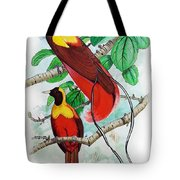 The Birds Of Paradise Tote Bag