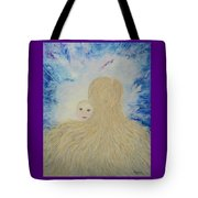 The Birth Of New Universal Love Named Tao  Tote Bag by Judy M Watts-Rohanna