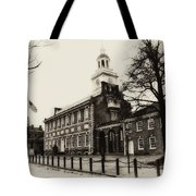 The Birthplace Of Freedom Tote Bag