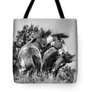 The Bite Painted Tote Bag