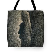 The Black Bow Tote Bag by Georges Pierre Seurat