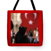 The Black Cat Tote Bag