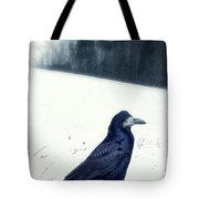 The Black Crow Knows Tote Bag