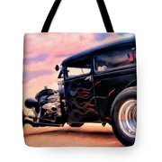 The Black Ghost Tote Bag