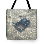 The Black Seashell Tote Bag