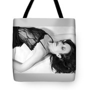 The Black Swan - Self Portrait Tote Bag