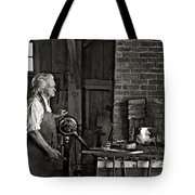 The Blacksmith 2 Monochrome Tote Bag