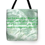 The Blarney Stone Tote Bag