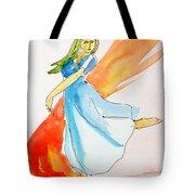 The Blazing Dancer Tote Bag