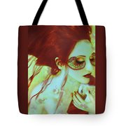 The Bleeding Dream - Self Portrait Tote Bag